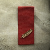 COMMENDATION FOR BRAVE CONDUCT MIMOSA + 250mm OF RIBBON | REPLICA | GALLANTRY