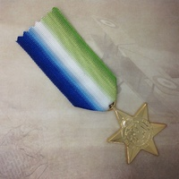 ATLANTIC STAR MEDAL | WWII | ARMY | MILITARY | COMMONWEALTH | ANZAC | REPLICA