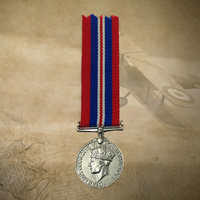 1939 - 1945 WAR MEDAL | WORLD WAR II | WWII | ANZAC | MINI | AUSTRALIA | ARMY