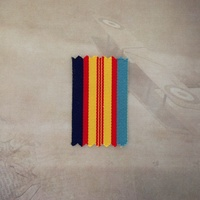 QUEEN'S VIETNAM MEDAL RIBBON - 1 X METER | AUSTRALIA | ANZAC | NEW ZEALAND