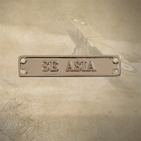 ASM 1945 - 1975 SE ASIA CLASP | MEDAL | MOUNTING | SERVICE | SINGAPORE | VIETNAM