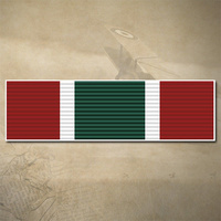 CANADA GENERAL CAMPAIGN STAR - S/W ASIA MEDAL RIBBON BAR DECAL | 45MM x 15MM