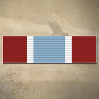 CANADA GENERAL CAMPAIGN STAR - ALLIED FORCE MEDAL RIBBON BAR DECAL | 90MM x 30MM