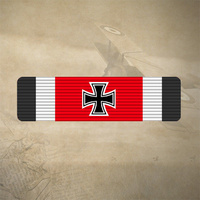 1939 GERMAN IRON CROSS STICKER / DECAL 120mm x 30mm  |  7YR UV + WATER RATED