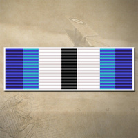 NZ SPECIAL SERVICE MEDAL (EREBUS) DECAL | STICKER | 90mm x 30mm