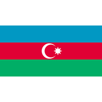 AZERBAIJAN COUNTRY FLAG | STICKER | DECAL | MULTIPLE STYLES TO CHOOSE FROM