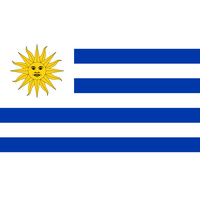 URUGUAY COUNTRY FLAG | STICKER | DECAL | MULTIPLE STYLES TO CHOOSE FROM