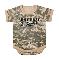Army Brat ACU Camo 1pc Bodysuit | COMMANDO OF THE PLAYGROUND | DRESS | COSTUME