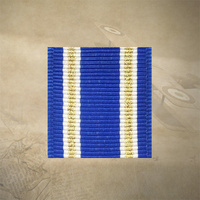 "NATO ACTIVE ENDEAVOUR (ARTICLE 5) MEDAL RIBBON 6"" INCHES 