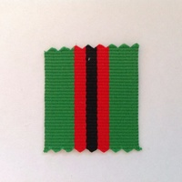 New Zealand GSM 2002 Afghanistan (PRI) Medal Ribbon - 1 x Meter ** CLEARANCE **