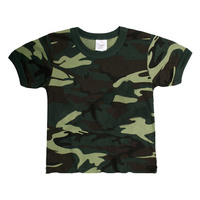 Infant Army Green Camo T-Shirt | CAMOFLAUGE | DRESS | COSTUME | PLAY