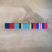 1939-45 Star, Air Crew Europe Star & 1939-45 War Medal Ribbon Bar | ACE | WWII