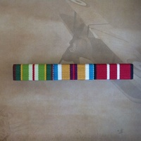 AASM 1975, Australian Afghanistan Medal and ADM Ribbon Bar | OPERATION SLIPPER