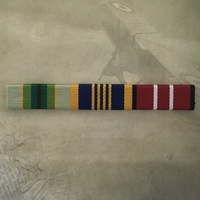 ASM 1975+, LONG SERVICE MEDAL AND AUSTRALIAN DEFENCE MEDAL RIBBON BAR