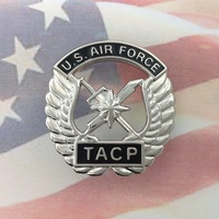 U.S. AIR FORCE TACTICAL AIR CONTROL PARTY BADGE| USAF | TACP | MISSION | COMBAT
