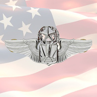 USAF COMMAND UNMANNED AIRCRAFT BADGE | DRONE | RPA | US AIR FORCE | WAR ON TERROR