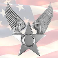 U.S. AIR FORCE HONOR GUARD CAP BADGE | USA | GENUINE | USAF