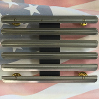 U.S. SERVICE MEDAL RIBBON BAR MOUNTING RACK | 18 SPACE | US ARMY | MILITARY