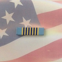 U.S. AIRMAN'S MEDAL RIBBON BAR | HEROISM | FLIGHT | AIR FORCE | USAF
