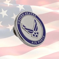 US AIR FORCE LAPEL PIN BADGE | COMBAT | WAR ON TERROR