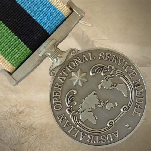 AUSTRALIAN OPERATIONAL SERVICE MEDAL - GREATER MIDDLE EAST | AWARD | COMBAT