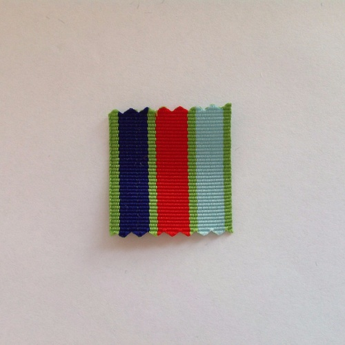 New Zealand Defence Medal Ribbon - 1 x Meter ** CLEARANCE **